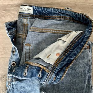 Jack and Jones Distressed Denim Jean